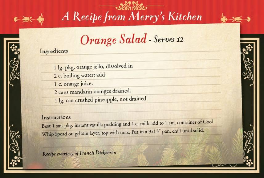 Merry's salad