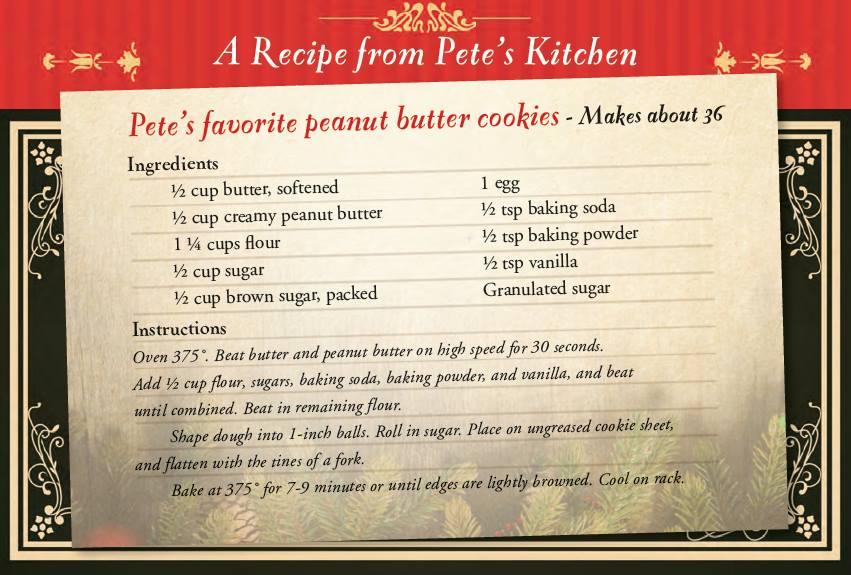 Pete's cookies