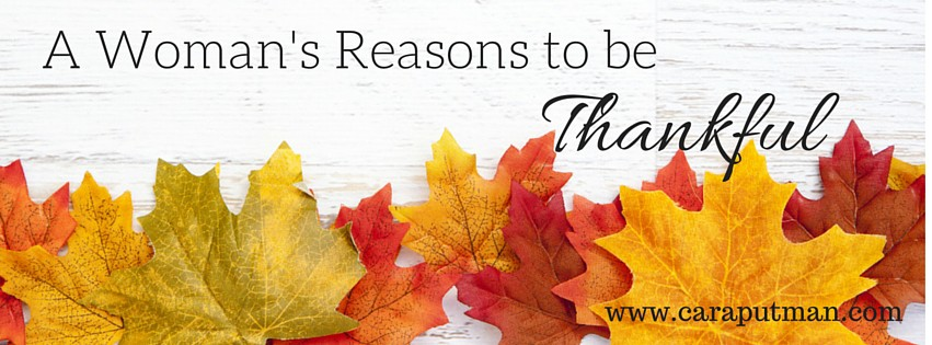 A Writer's Reasons to be Thankful (2)