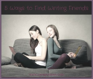 Find writing friends