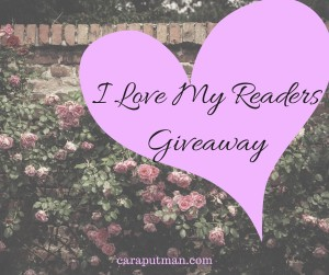 I Love My ReadersGiveaway