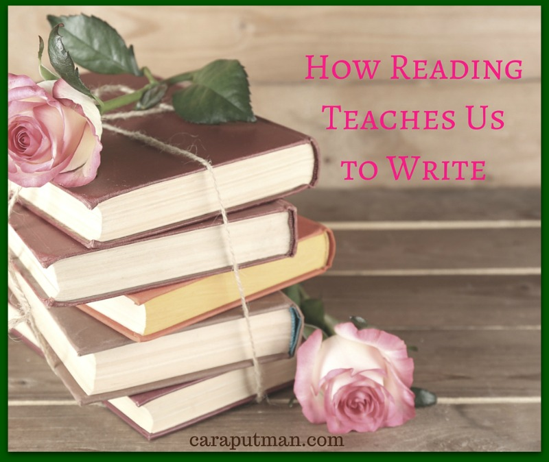 Reading Teaches Us to Write