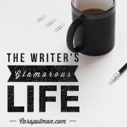 The glamorous writing life: Editing & Giveaway