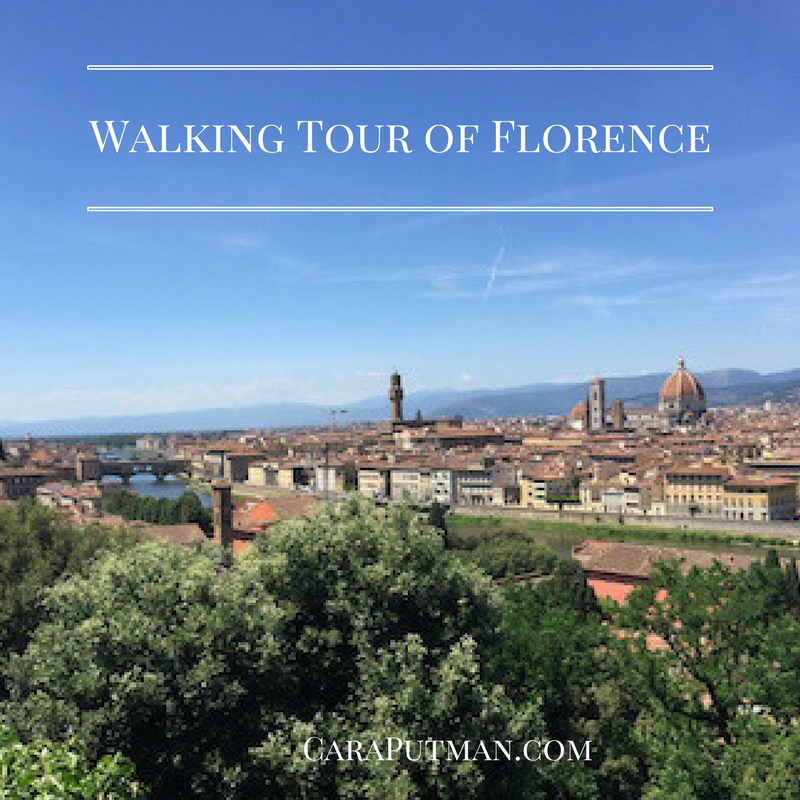 Italian Florence: Walking Tour Of Florence